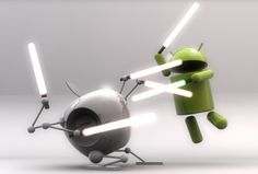 Android Versus iPhones / figuring out my new phone ;)