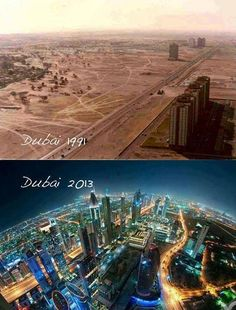 Dubai. What????!!!!! That's insane!
