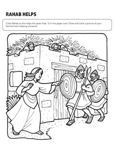 Bible Coloring Pages Childrens Lessons Sunday School Colouring Church Pictures Drawings