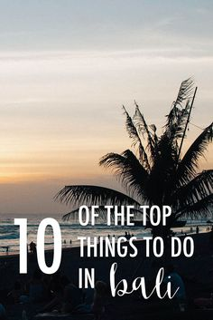 Some of the top things to do in Bali based on what I was able to do on my trip and what I want to do when I return! What would you add? via @thshegoesagain