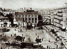 Plaça Catalunya Barcelona 1888