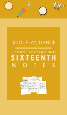 Songs to Teach Sixteenth Notes Elementary Music Singing Quotes, Singing Lessons, Music Lessons, Learn Singing, Song Quotes, Music Quotes, Sara Bareilles, Singing Games, Music Games