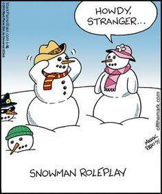 "- ""Off the Mark"" by Mark Parisi; Christmas Jokes, Christmas Doodles, Christmas Cartoons, Christmas 2019, Xmas, Snowman Jokes, Snowman Cartoon, Cartoon Jokes, Funny Cartoons"