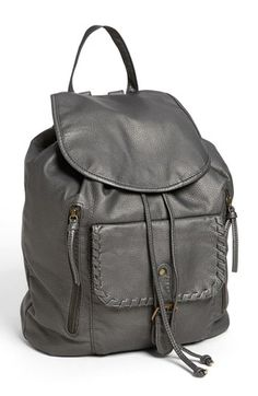 Under One Sky Faux Leather Backpack (Juniors) available at #Nordstrom