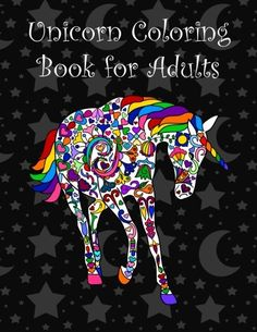 Unicorn coloring book for adults by Brothergravydesigns https://www.amazon.com/dp/1530792029/ref=cm_sw_r_pi_dp_x_.2QKybNQB0Z52