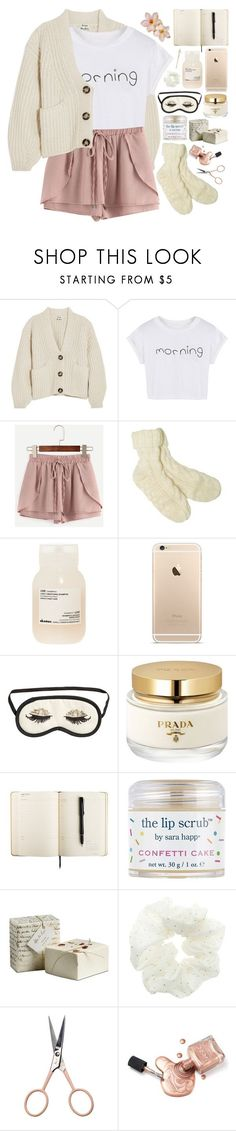 """""""2511. No matter how much it hurts now, someday you will look back and realize your struggles changed your life fot the better."""" by chocolatepumma ❤ liked on Polyvore featuring Acne Studios, WithChic, Dash, Davines, H&M, Prada, Sara Happ, Topshop and Anastasia Beverly Hills"""