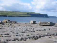 """Doolin Beach, I sat here and watched the sunset just before going into town to hear """"the best"""" live celtic music in Ireland...sadly some American Tourist died in the pub just as I was showing up, and no one felt like singing afterwords."""