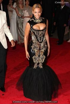 Alexander McQueen 'Savage Beauty' Costume Institute Gala at The Metropolitan Museum of Art Beyonce Knowles photo