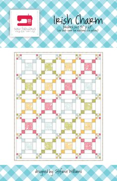 Irish Charm Quilt Pattern PDF** I have always wanted to make this pattern for our bed. This pattern has color guide too
