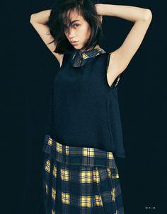 Kiko Mizuhara for Emoda, SS 2015 Fashion Models, Fashion Beauty, Womens Fashion, Kiko Mizuhara Style, My Muse, Beautiful Asian Girls, Japanese Fashion, Classy, Photoshoot