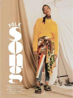 PRESTON HOLES IN GRAZIA MAGAZINE Grazia Magazine, Preston, Sari, Fashion, Saree, Moda, Fashion Styles, Fashion Illustrations, Saris