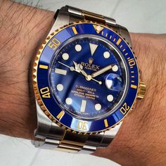 Rolex [NEW] Oyster Perpetual Submariner Date 116613LB (Retail:HK$94,700) ~ OUR PRICE: HK$83,800.     Stopped Production Already!! Last One We Have!! 已停產, 我們最後一支!!     #rolex #SUBMARINER #BLUESUBMARINER #ROLEXSUBMARINER #ROLEXSUBMARINER #ROLEXBLUESUBMARINER  #BLUE_SUBMARINER  #116613LB #ROLEX116613LB #ROLEX116613