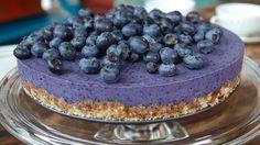 Glutenfri, sukkerfri og melkefri blåbærkake