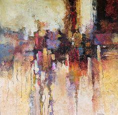 Infinity by Christopher Westfall Acrylic ~ 36 x 36