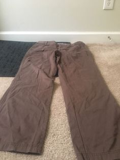 DOCKERS Collection Favorite Fit Womens Casual Pants Sz 12 Clothes Brown #DOCKERS #CasualPants