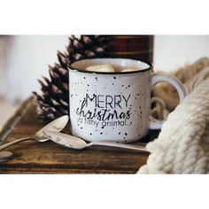 Merry Christmas Ya Filthy Animal Hilarious Coffee Mug ($22) ❤ liked on Polyvore featuring home, kitchen & dining, drinkware, drink & barware, grey, home & living, mugs, animal mugs, stoneware coffee mugs and stoneware mugs