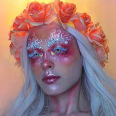 Black Girl Makeup, Girls Makeup, Eye Makeup Art, Hair Makeup, Fashion Editorial Makeup, Face Awards, Cute Makeup Looks, Indie Makeup, Halloween Eye Makeup