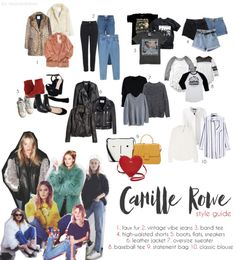 Camille Rowe style guide by @messyandclassy (messy and classy)