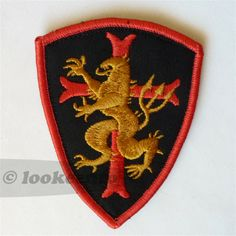 Seal Team 6 Gold Squadron Wood Patch | Armed,and prepared | Navy