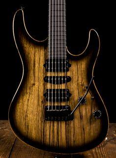 Suhr Modern Custom Black Limba / Mahogany Electric Guitar - Black Burst | NStuffmusic