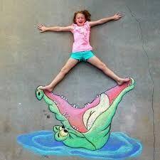Image result for funny sidewalk chalk