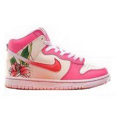 Nike Dunk Grade School Orchid Flower Pink Women Shoes