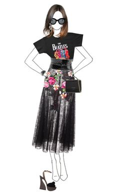 """""""beatles"""" by esterp ❤ liked on Polyvore featuring Marni, Alaïa, Charlotte Olympia, Oscar de la Renta, CÉLINE, AS29 and Givenchy"""