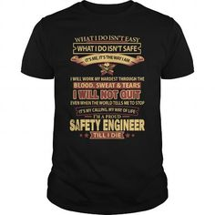 SAFETY ENGINEER T Shirts, Hoodies, Sweatshirts. GET ONE ==> https://www.sunfrog.com/LifeStyle/SAFETY-ENGINEER-145019635-Black-Guys.html?41382