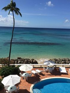 The Swimming Pool at Cobblers Cove, Relais & Chateaux in Speightstown, Barbados #travel
