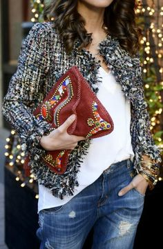 En Tendencia: Chaquetas de Tweed