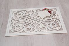 Beautiful Wooden placemat