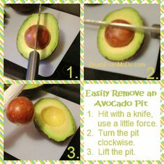 Learn the easiest and fastest way to remove the pit from an avocado and to perfectly slice an avocado while still in the skin.
