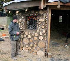 Beautiful traditional Cobwood Round house at Jimmys Farm Suffolk UK  By www.earthmovesdesigns.co.uk