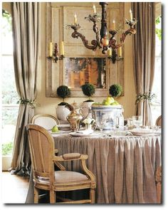 images pamela pierce | Pam Pierce's Slipcover Looks For Your Provence Home Pam Pierce ...