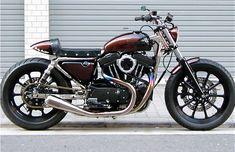 TrampXLH1200S - Pipeburn - Purveyors of Classic Motorcycles, Cafe Racers & Custom motorbikes
