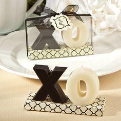 XO Candle Wedding Favours