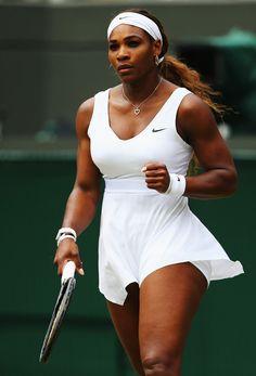 Serena Williams Photos: Wimbledon: Day 4
