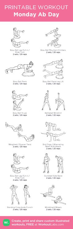 dia 11 - abdominales 2 set de 20 repeticiones
