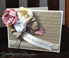 Roses, Roses, Roses by Pretty Paper Cards - Cards and Paper Crafts at Splitcoaststampers