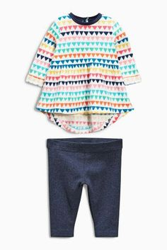 Acheter Ensemble legging et tunique à imprimé multicolore (0-18 mois) en ligne dès aujourd'hui chez Next : Belgique