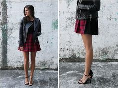 Tutorial: Two-tone tartan skirt