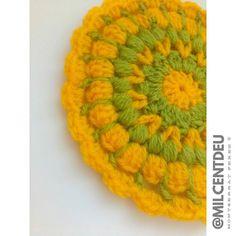 Mándala en verde y amarillo. #workinprogress #crochet #creative #hogar #ganchillo #workinprogress #cute #design #instacrochet #photo #crochetadict #crochetsheep #crochetlamb #diy #handmade #yarnlove #crochetersofinstagram #ilovecrochet #handmadebyme #personalproject #mcxhogar