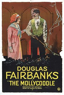 The Mollycoddle. Douglas Fairibanks, Ruth Renick, Wallace Beery, Paul Burns, Charles Stevens. Directed by Victor Fleming. United Artists. 1920