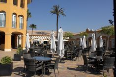 Terraza del Plaza Marjal by Camping Marjal Costa Blanca, via Flickr