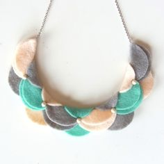 An Meru Meru Necklace C by HOMAKO on Etsy, $32.00