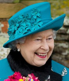 Queen Elizabeth, Dec 25, 2012 in RTM | Royal Hats