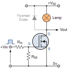 relay circuit diagram schematic electronic magic Pinterest