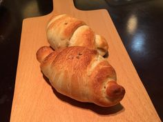 Salted dense croissant bread rolls 鹽之花可頌