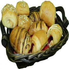 We would like to share some Breakfast Filled Croissants with you! Chocolate, Raspberry, Almond, Apple, mmmm... Enjoy!!! www.delibaking.com
