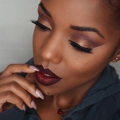 #Bae @ellarie rocking new eyeshadows. Which is your fave? Tamirahamilton.com/gtl #bbloggers #bblog (at tamirahamilton.com/gtl)
